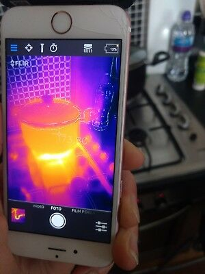 FLIR ONE - Personal Thermal Imager - Thermal Imaging Camera - for iOS