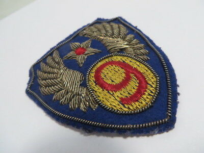 WW2 US Army AAF 9th Airforce Bullion Patch This one is excellent