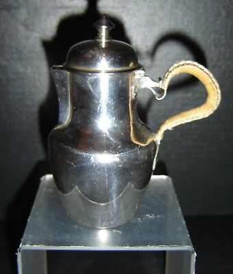 Antique French Important Olier & Caron Sterling Silver Small Tea Pot 5.6 OZ. NR.