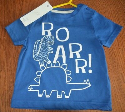 Boys Bnwt Roar T Shirt - In Pefect Condition, Aged 12-18 Months