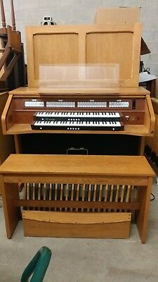 REDUCED RODGERS 595 2-Manual Digital Organ with MIDI, Internal Speakers