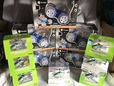 Huge Joblot Of RC Cars And Helicopters
