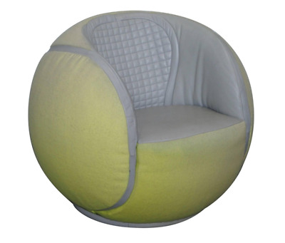 Rare De Sede 1985 Ds-9100/01 Tennis Ball Swivel Armchair From Wta Zurich Open