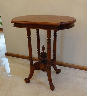 Ancient Mariner Mahogany Oval Side Table Occasional Table