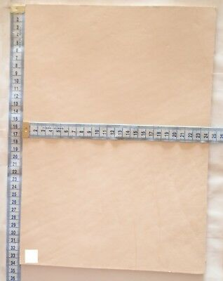 4Mm Thick Natural Veg Tan Craft Leather Hide