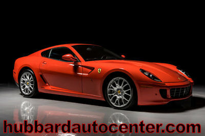 Ferrari 599 GTB Fiorano Rare Rosso Dino paint, miles, lots of factory opti 2008 Ferrari 599 GTB Fiorano Rare Factory Rosso Dino Paint, Lots of Options, WOW