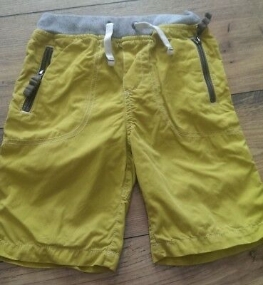 Boden Boys Lightweight Yellow Shorts, Age 6
