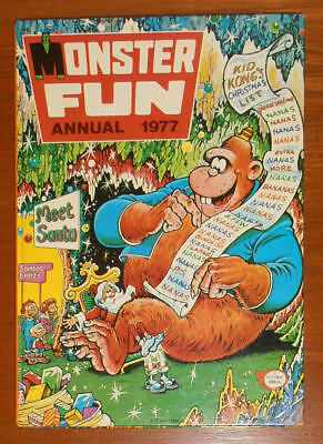 MONSTER FUN Annual 1977 - FIRST ONE - like Shiver and Shake Buster Cor!!