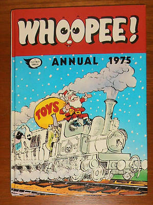 WHOOPEE! Annual 1975 - FIRST ONE - FINE - like Whizzer and Chips Buster Cor!!