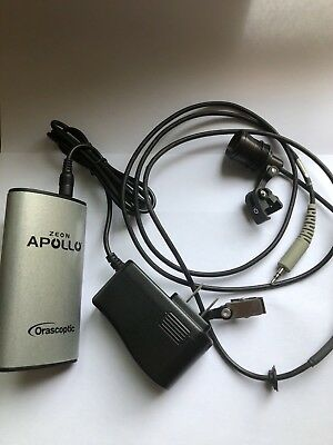 Orascoptic Zeon Apollo Dental LED Light System Battery, Charger and User Manual