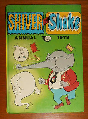 SHIVER and SHAKE Annual 1979 like Whoopee Whizzer and Chips Buster