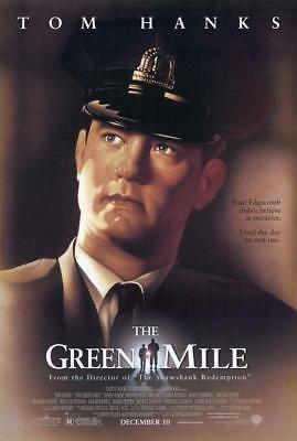 The Green Mile Movie POSTER 27 x 40 Tom Hanks, Michael Clarke Duncan, A, USA NEW