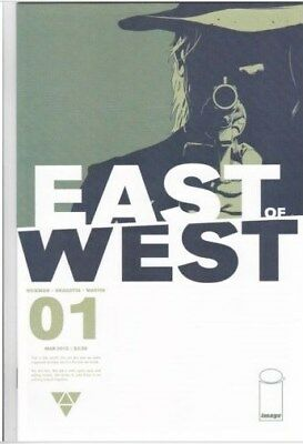East of West #1 - 1st Print Hickman NM First print TV show!  Free shipping!