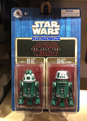 Disney Parks Star Wars The Last Jedi Droid Factoy R4-X2 Y5-X2 Pack of 2 New
