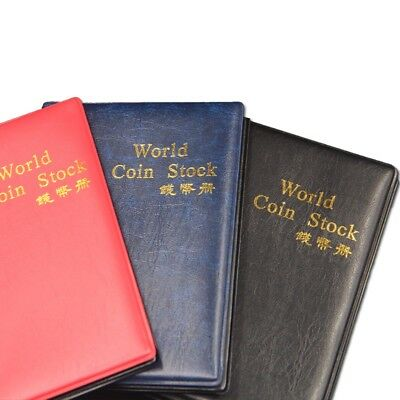 Lot of 3 x --10 Pages Collection Storage Case Coin Stock Book 120 Pocket Album