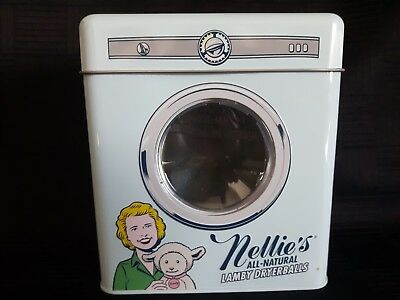 Nellie's All Natural Lamby Dryerballs Piggy Bank Tin