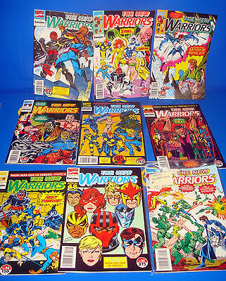 Batch of comics THE NEW WARRIORS -9 numbers discontinued forum (18-26)