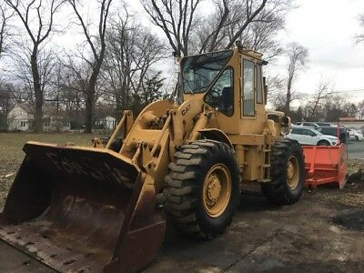 "Caterpillar 950 Articulating Wheel Loader Enclosed Cab 105"" Bucket Cat 3304"