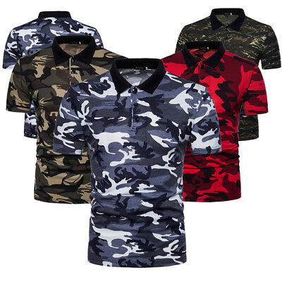 242f18786e435b Men s Summer Tactical Shirt Short Sleeve Cotton Tee Camouflage Army  Military Top