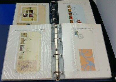 Bulk Lot FDC Envelopes Australia in Folders in Number Order Amazing Collection