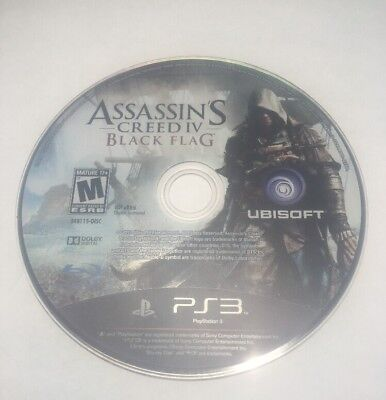 Assassin's Creed IV: Black Flag (Sony PlayStation 3, 2013) Disk Only