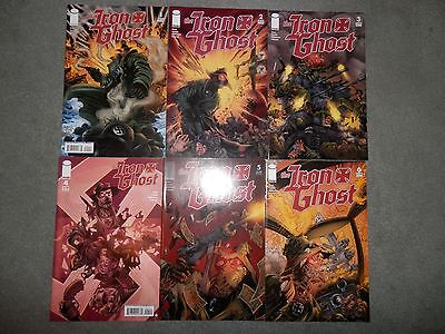 The Iron Ghost Image 1-6 1 2 3 4 5 6 Comic Lot Full Run Complete Set