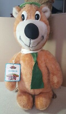 Vintage Yogi Bear Plush  Hannah-Barbera Playtime toys inc.