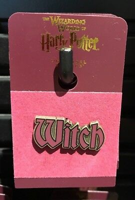 Universal Studios Wizarding World of Harry Potter Witch Trading Pin New