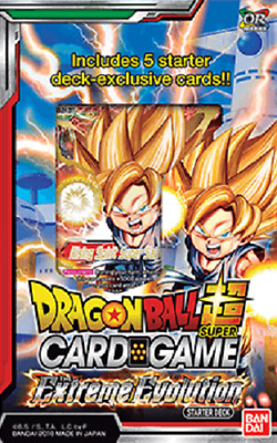 Dragon Ball Super TCG Cross Worlds The Extreme Evolution Starter Deck