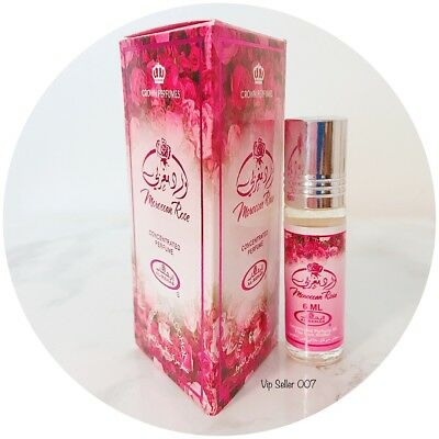 Moroccan Rose 6ml Roll-on Concentrated perfume Oil by Al Rehab For Sale From US