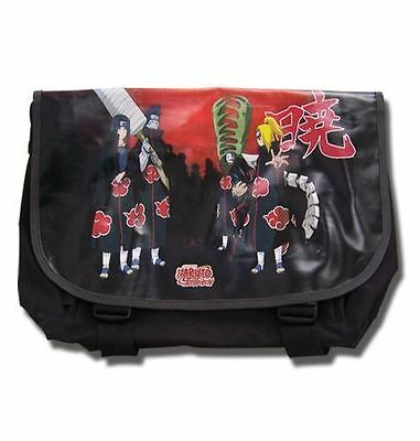 *NEW* Naruto Shippuden Akatsuki Messenger Bag by GE Animation