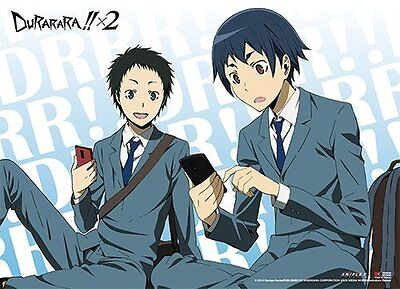 *NEW* Durarara!! X2: Mikado & Aoba Landscape Wall Scroll by GE Animation