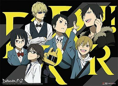 *NEW* Durarara!! X2: Group 01 Landscape Wall Scroll by GE Animation