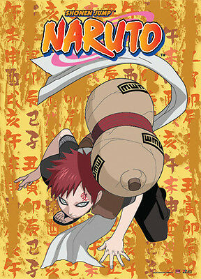 *NEW* Naruto: Gaara Crouch Down Wall Scroll by GE Animation