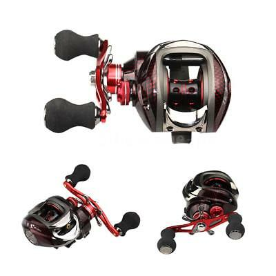 12 Kugellager BB Linke Baitcasting Angelrolle 6.3:1 Fishing Reel 11Ball HOT B3Q6