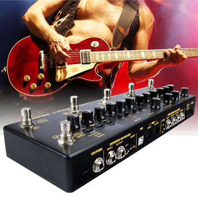 Integrated Effects & Controller Distortion Overdrive Multi-Function Effect Pedal