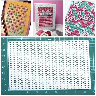 Rectangle Background Cutting Dies Stencils for Scrapbooking Embossing Card Craft