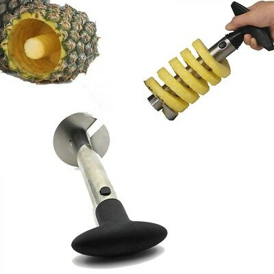 Dishwasher-Safe Stainless Steel Pineapple Peeler, Slicer & Corer