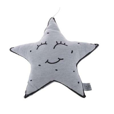 Noctilucent Star Shaped Cushion Baby Soothing Toy Wall Hanging Infant Pillow