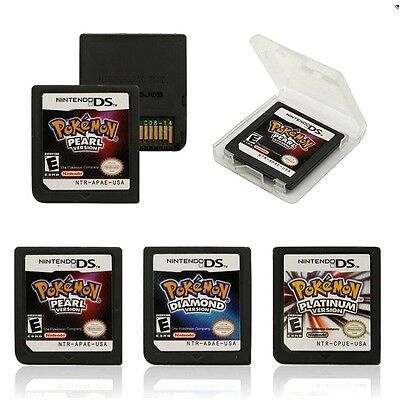 3DS  NDS DSI Pokemon Platinum Pearl Diamond Version Game Card For Nintendo