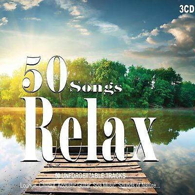 2CD 50 Songs Relax,  Musica Rilassante, Peaceful, Wellness Relax, Lounge Music