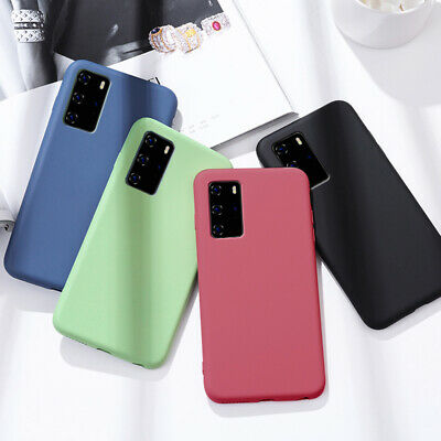 Ultra Thin Shockproof Matte Silicone Case Cover For Huawei P10 Lite Plus P9 Lite