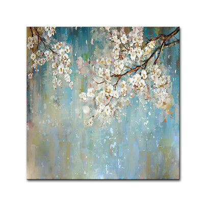 Large Handpainted Flower Floral Tree Abstract Morden Oil Paintings On Canvas Art