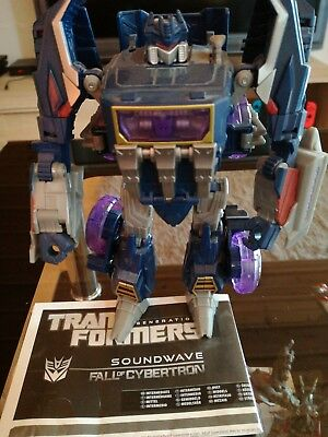 Transformers FOC Voyager Soundwave