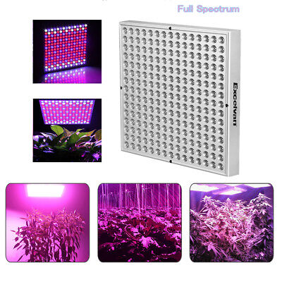 45W Hydroponic LED Plant Grow Light Panel Full Spectrum Lamp Veg Bloom Garden AU