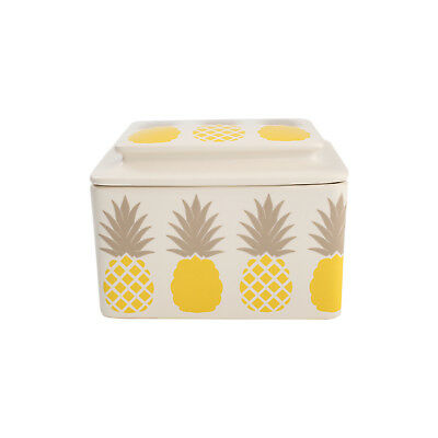T&G Tutti Frutti Butter Dish Pineapple FREE DELIVERY 18504P