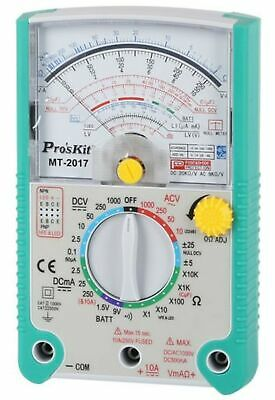 ANALOGUE MULTIMETER Safe Handheld Meter W/Protective Holster Overload Protection