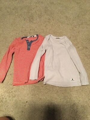Country Road Baby Boys Henley Tops Size 18-24m EUC