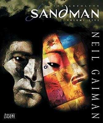 ABSOLUTE SANDMAN VOLUME FIVE By Neil Gaiman - Hardcover **BRAND NEW**