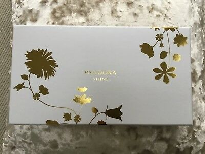 PANDORA Gold Shine Clutch Bag - New Limited Edition.  Brand New in Box